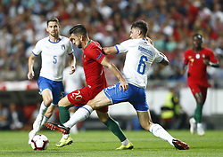 September 10, 2018 - Lisbon, Italy - Portugal v Italy - UEFA Nations League.Pizzi of Portugal and Alessio Romagnoli of Italy at Estadio da Luz in Lisbon, Portugal on September 10, 2018. (Credit Image: © Matteo Ciambelli/NurPhoto/ZUMA Press)