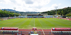 General View of San Marino Stadium  - Mandatory byline: Joe Meredith/JMP - 07966386802 - 05/09/2015 - FOOTBALL- INTERNATIONAL - San Marino Stadium - Serravalle - San Marino v England - UEFA EURO Qualifers Group Stage