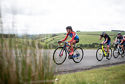 Erica Magnaldi (ITA) of WNT Rotor Pro Cycling climbs on Stage 5 of 2019 OVO Women's Tour, a 140 km road race from Llandrindod Wells to Builth Wells, United Kingdom on June 14, 2019. Photo by Balint Hamvas/velofocus.com