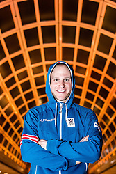 28.01.2014, Marriott, Wien, AUT, Sochi 2014, Einkleidung OeOC, im Bild Bernhard Gruber (AUT) // Bernhard Gruber of Austria during the outfitting of the Austrian National Olympic Committee for Sochi 2014 at the  Marriott in Vienna, Austria on 2014/01/28. EXPA Pictures © 2014, PhotoCredit: EXPA/ JFK