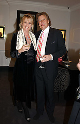 THEO & LOUISE FENNELL at a party to celebrate the International Women's Day in association with Theo Fennell and The Russian Connection held at Theo Fennell, 169 Fulham Road, London SW3 on 1st March 2005.<br /><br />NON EXCLUSIVE - WORLD RIGHTS