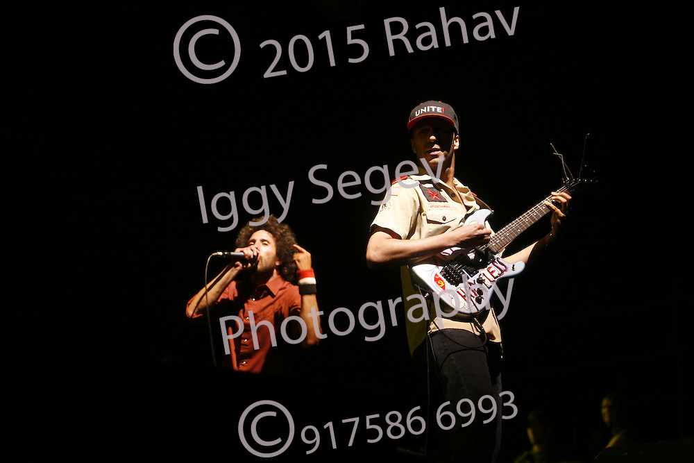 Rage Against the Machine performing at Coachella. For additional caption and licensing information please contact the studio. rahav@photopass<br />
