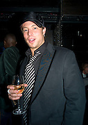 DUNCAN JAMES, INTO THE HOODS - a hip hop dance musical -opening  at the Novello Theatre on The Aldwych. After- party at TAMARAI at 167 Drury Lane, London. 27 March 2008.   *** Local Caption *** -DO NOT ARCHIVE-© Copyright Photograph by Dafydd Jones. 248 Clapham Rd. London SW9 0PZ. Tel 0207 820 0771. www.dafjones.com.