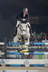 Lansink Jos (BEL) - Casper van Spieveld<br /> Jumping Mechelen 2010<br /> © Dirk Caremans