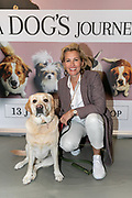 2019, June 12. UPI, Amsterdam, the Netherlands. Anouk Smulders and her dog Scoop at the dutch premiere of A Dog's Journey.