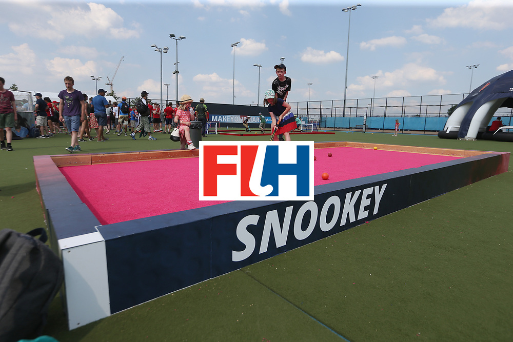 LONDON, ENGLAND - JUNE 18:  General view of the event during the Hero Hockey World League Semi-Final match between England and Argentina at Lee Valley Hockey and Tennis Centre on June 18, 2017 in London, England.  (Photo by Alex Morton/Getty Images)