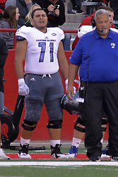 NORMAL, IL - September 08: Jose Sanchez during 107th Mid-America Classic college football game between the ISU (Illinois State University) Redbirds and the Eastern Illinois Panthers on September 08 2018 at Hancock Stadium in Normal, IL. (Photo by Alan Look)
