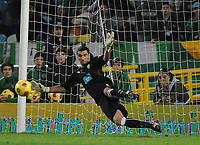 20090425: The Portuguese League is home to a growing number of African, Brazilian and Argentinean promising young players. ***FILE PHOTO*** 20081109: LISBON, PORTUGAL - Sporting Lisbon vs FC Porto: Portuguese Cup 2008/2009. In picture: Rui Patricio (Sporting goalkeeper). PHOTO: Alvaro Isidoro/Cityfiles