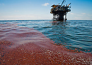 BP Oil On Surface of Gulf of Mexico