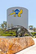UCI Water Tower and Campus Mascot