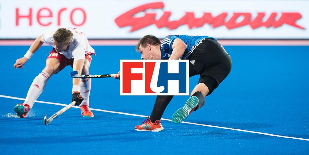 Odisha Men's Hockey World League Final Bhubaneswar 2017<br /> Match id:14<br /> England v Argentina , Quater Final<br /> Foto:  Lucas Rossi (Arg)<br /> WSP COPYRIGHT KOEN SUYK
