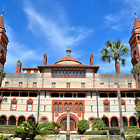 Ponce de León Hall at Flager College in St. Augustine, Florida<br />