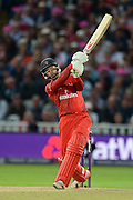 Arron Lilley during the NatWest T20 Blast final match between Northants Steelbacks and Lancashire Lightning at Edgbaston, Birmingham, United Kingdom on 29 August 2015. Photo by David Vokes.