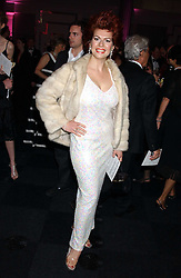 CLEO ROCCOS at the Conservative Party's Black & White Ball held at Old Billingsgate, 16 Lower Thames Street, London EC3 on 8th February 2006.<br />