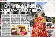 Kingdom of Romkerhall.<br /> Published in Dresdner Morgenpost June 29, 2018.<br /> <br /> Verwendung mit freundlicher Genehmigung von der Dresdner Morgenpost.