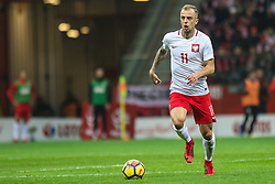 November 10, 2017 - Warsaw, Poland - Kamil Grosicki (POL) in action during the international friendly match between Poland and Uruguay at National Stadium on November 10, 2017 in Warsaw, Poland. (Credit Image: © Foto Olimpik/NurPhoto via ZUMA Press)