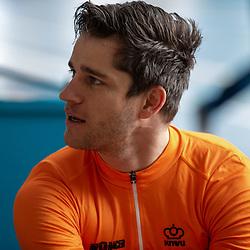 19-02-2020: Wielrennen: persmoment KNWU: Alkmaar. <br />Theo Bos