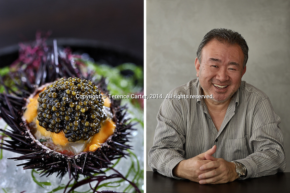 Waku Ghin, Chef Tetsuya Wakuda, Singapore. Copyright 2014 Terence Carter / Grantourismo. All Rights Reserved.