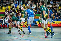 ARNHEM -  halve finales NK competitie  zaalhockey  junioren.   COPYRIGHT  KOEN SUYK