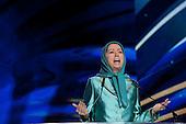 """""""Free Iran"""" annual gathering, Maryam Rajavi"""