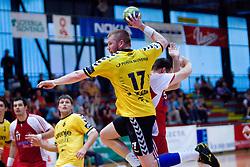 Matjaz Mlakar of Gorenje at handball match of MIK 1st Men league between RD Slovan and RK Gorenje Velenje, on May 16, 2009, in Arena Kodeljevo, Ljubljana, Slovenia. Gorenje won 27:26. (Photo by Vid Ponikvar / Sportida)