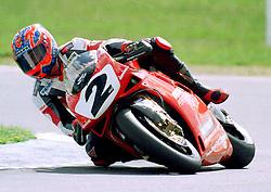 Carl Foggarty, Ducati, World Superikes, Donington Park, 1998