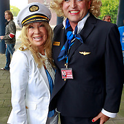 NLD/Amsterdam/20110806 - Canalpride Gaypride 2011, Mary Borsato en Gordon Heuckroth
