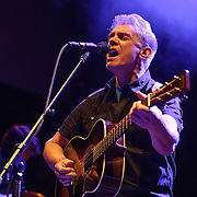 WASHINGTON, DC - January 24th, 2014 -  Iain Matthews of Fairport Convention performs at the 9:30 Club in Washington, D.C. with members of Beach House, The Walkmen, Wye Oak, Grizzly Bear and other bands during a tribute to Gene Clark's seminal 1974 album, No Other.  (Photo by Kyle Gustafson /  For The Washington Post)