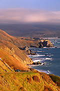 Image of Highway 1 and Big Sur, central California coast
