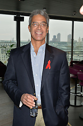 DR MITCH BESSER husband of singer Annie Lennox at the mothers2mothers World AIDS Day VIP Lunch with Next Management & THE OUTNET.COM held at Mondrian London, 19 Upper Ground, London on 1st December 2014.