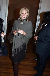Actress JOANNA LUMLEY at a party to celebrate the publication of 'Blow Up' - a biography of the late actor David Hemmimgs, held at the Institute of Contemporary Arts, The Mall, London on 27th September 2004.<br /><br />NON EXCLUSIVE - WORLD RIGHTS