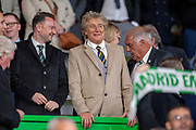 Rod Stewart in the crowd before the UEFA Europa League group stage match between Celtic FC and Rosenborg BK at Celtic Park, Glasgow, Scotland on 20 September 2018.