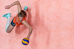 28-05-2019 NED: Volleyball Nations League Netherlands - Brazil, Apeldoorn<br /> <br /> Eline Timmerman #31 of Netherlands