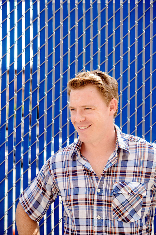 Photo by Matt Roth<br /> <br /> Diego Klattenhoff from Homeland and Pacific Rim is photographed in Hells Kitchen in New York, New York on Tuesday, July 23, 2013.