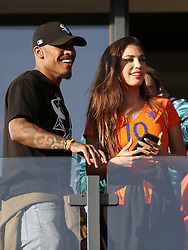 June 9, 2017 - Fifa World Cup 2018 Qualifying G - (L-R) Nigel de Jong, Yolanthe Sneijder-Cabauduring the FIFA World Cup 2018 qualifying match between The Netherlands and Luxembourg at the Kuip on June 9, 2017 in Rotterdam, The Netherlands (Credit Image: © Netherlands V Luxembourg/Hollandse-Hoogte via ZUMA Press)