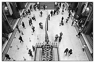 Areal view onto the entrance hall of the Natural History Museum. London