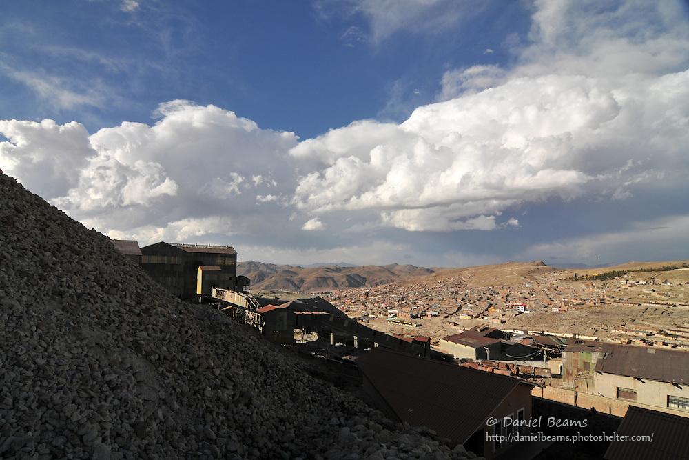 Potosi seen from Cerro Rico silver mines, Potosi, Bolivia