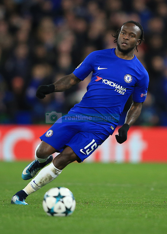 5 December 2017 -  UEFA Champions League (Group C) - Chelsea v Atletico Madrid - Victor Moses of Chelsea - Photo: Marc Atkins/Offside