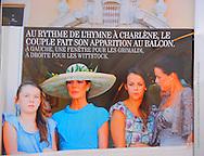GALA - Princess Alexandra of Hanover, HSH Princess Caroline of Hanover, Pauline Ducruet and HSH Princess Stephanie of Monaco by Tony Barson