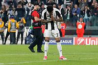 can - 14.03.2017 - Torino - Champions League Quarti di Finale  -  Juventus-Barcellona nella  foto: Dani Alves si scusa con i tifosi del Barcellona a fine partita