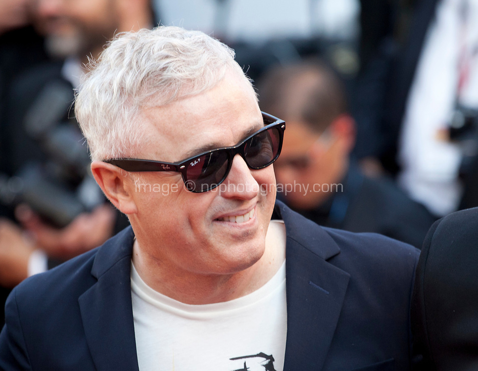 Robin Campillo arriving to the Closing Ceremony and awards at the 70th Cannes Film Festival Sunday 28th May 2017, Cannes, France. Photo credit: Doreen Kennedy