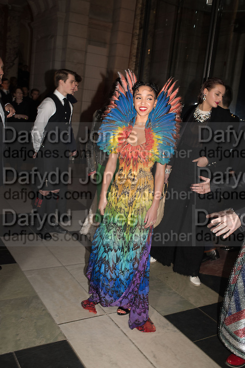FKA TWIGS, Alexander McQueen: Savage Beauty Gala, Victoria and Albert Museum, and A. 12th March 2015