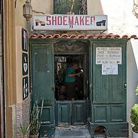 Alfred Caruana Shoemaker,<br />Mdina, Malta, Europe.<br />Summer 2016.