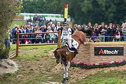 Zara Philips, (GBR), High Kingdom - Eventing Cross - Alltech FEI World Equestrian Games™ 2014 - Normandy, France.<br /> © Hippo Foto Team - Leanjo De Koster