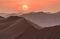 Sonnenuntergang über der Rub al Khali