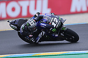 #12 Maverick Vinales, Spanish: Movistar Yamaha during the MotoGP Grand Prix de France at the Bugatti Circuit at Le Mans, Le Mans, France on 18 May 2019.