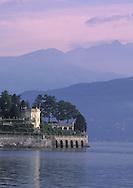 The Isola Bella Garden on Lake Maggiore, Italy
