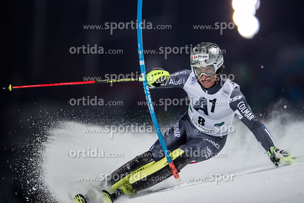 24.01.2017, Planai, Schladming, AUT, FIS Weltcup Ski Alpin, Schladming, Slalom, Herren, 1. Lauf, im Bild Julien Lizeroux (FRA) // Julien Lizeroux of France in action during his 1st run of men's Slalom of FIS ski alpine world cup at the Planai in Schladming, Austria on 2017/01/24. EXPA Pictures © 2017, PhotoCredit: EXPA/ Johann Groder