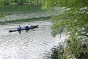 Paddler am Edersee, Nordhessen, Hessen, Deutschland   kajak on Lake Eder, Hesse, Germany