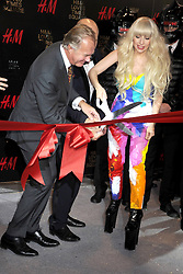 60715674 <br /> Lady Gaga attends the H&M Times Square grand opening, New York City, USA , Thursday, 14th November 2013. Picture by  imago / i-Images<br /> UK ONLY